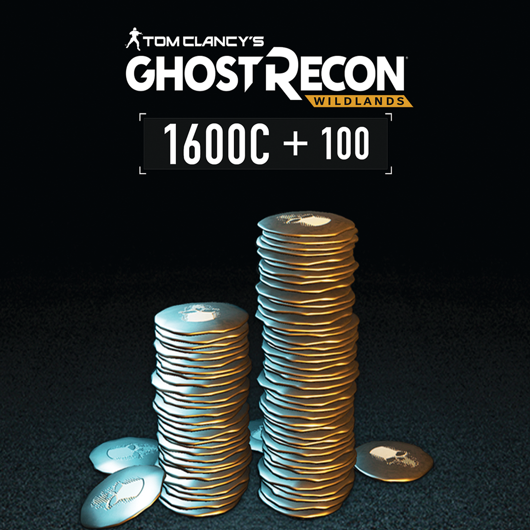 Tom Clancy's Ghost Recon Wildlands - 1700 GR Credits Pack [PC Code - (Recon Ghost Kostüme)