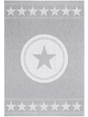 Pflegeleichter teppich  benuta In- & Outdoor Teppich Essenza Star Grau 120x170 cm ...
