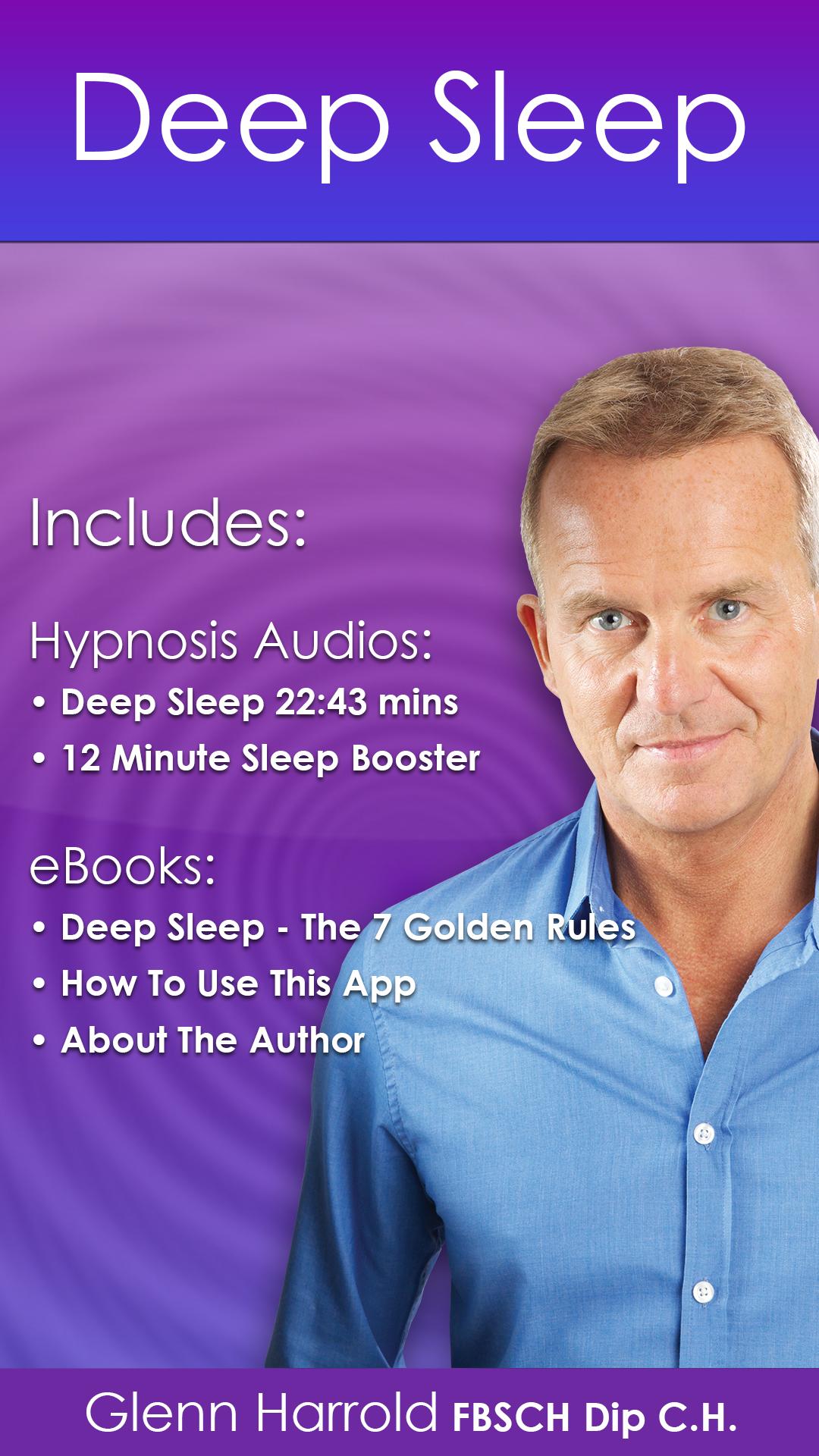 Deep Sleep By Glenn Harrold A Self Hypnosis Sleep