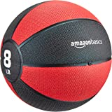 امازون بيسكس كرة وزن طبية ، احمر - 8 رطل