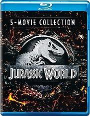 Jurassic World 5 Movies Collection: Jurassic Park + The Lost World: Jurassic Park + Jurassic Park 3 + Jurassic World + Fallen Kingdom