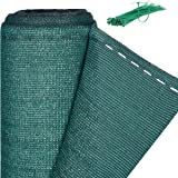 Relaxdays, vert Brise-vue, Paravent pour les clôtures et rambardes, Tissu HDPE, Anti-UV, 1,5 x 6 mètres, Meter