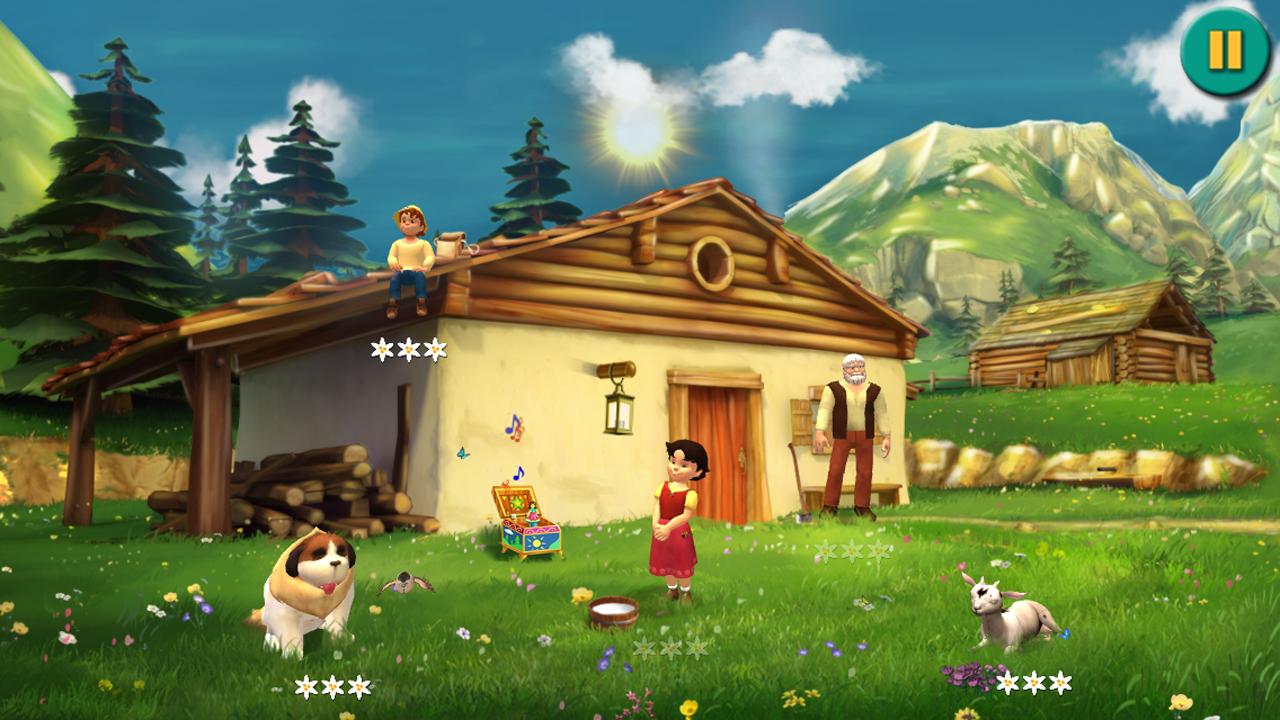 Heidi: Abenteuer in den Bergen: Amazon.de: Apps für Android