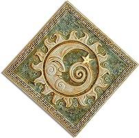 MANI REGALO Luna bassorilievo pannello decorativo da parete in Orfalese arte e foglia Oro / oggetti da regalo / idee...