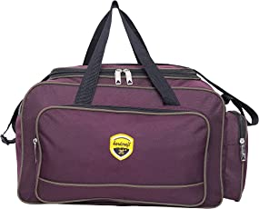 Hard Craft Unisex Lightweight Nylon Waterproof Wine Luggage Travel Duffel Bag