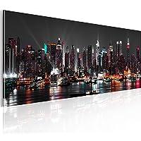 murando - Bilder New York 135x45 cm Vlies Leinwandbild 1 TLG Kunstdruck modern Wandbilder XXL Wanddekoration Design Wand…