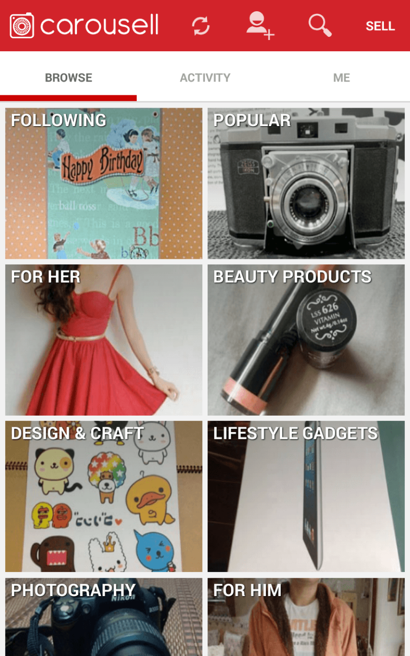 9d17357266 Carousell  Snap to Sell
