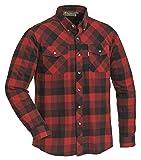 Pinewood Herren Lumbo Hemd Rot/Schwarz XL