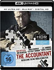 The Accountant  (4K Ultra HD + 2D-Blu-ray) (2-Disc Version)