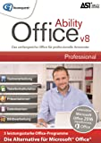 Ability Office 8 Professional - Die leistungsstarke Office-Alternative ohne Abo! Für Win 10