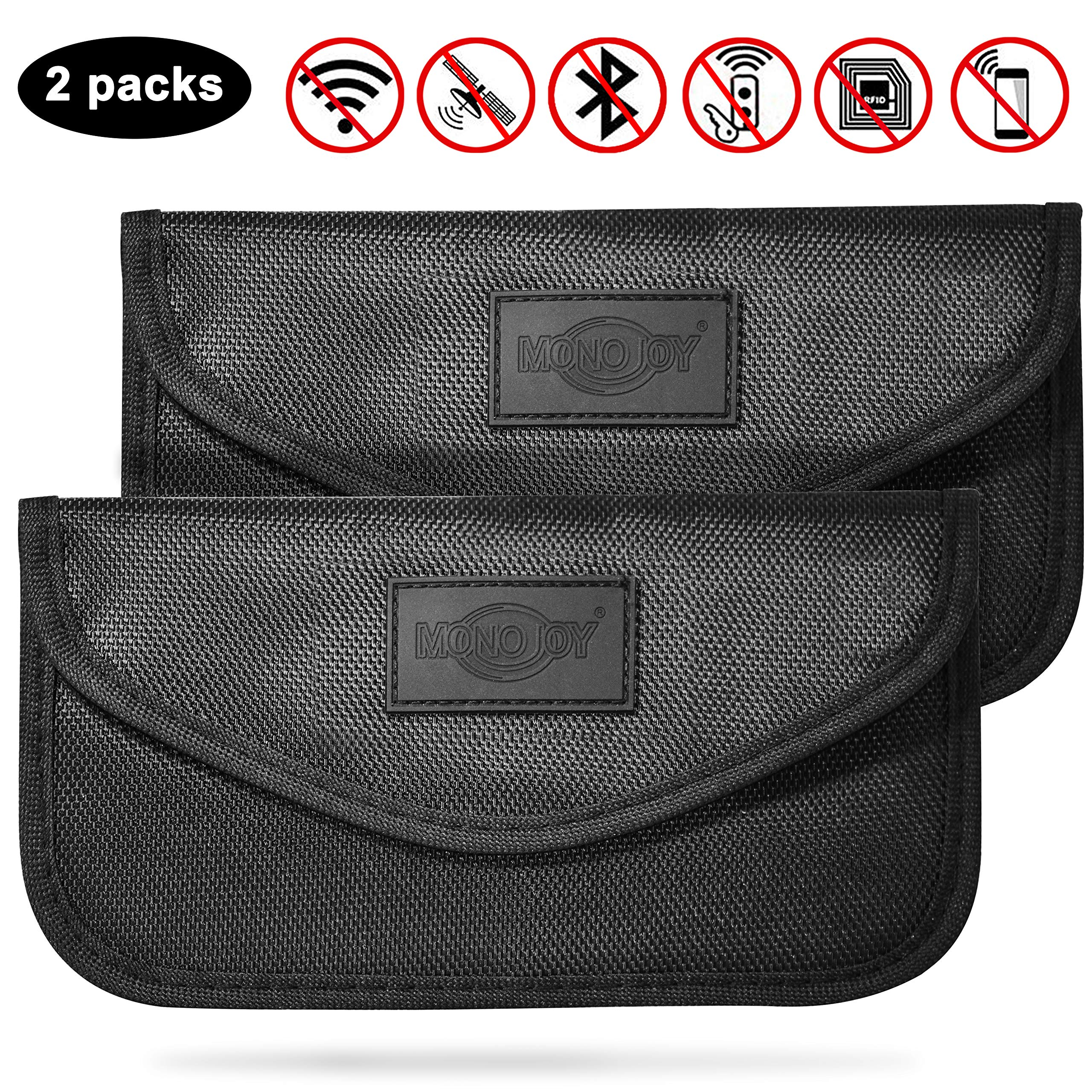 2019 NEW SAMFOLK Mini Faraday Bag for Car Keys Car key Signal Blocker Case