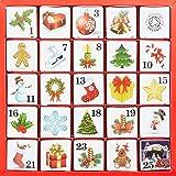 """English Tea Shop - Tee Adventskalender""""Christmas Ornaments"""", 25 einzelne Boxen mit würzigen BIO-Tees in hochwertigen Pyramiden-Teebeutel"""