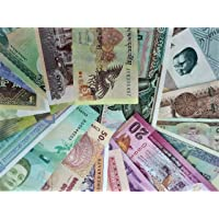 Novelty Collections - 20 World Currency Notes (All Different) from Minimum 14 Countries