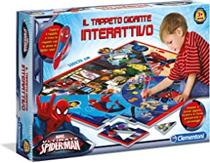 Clementoni 13276 - Spiderman Ultimate Tappeto Gigante Interattivo