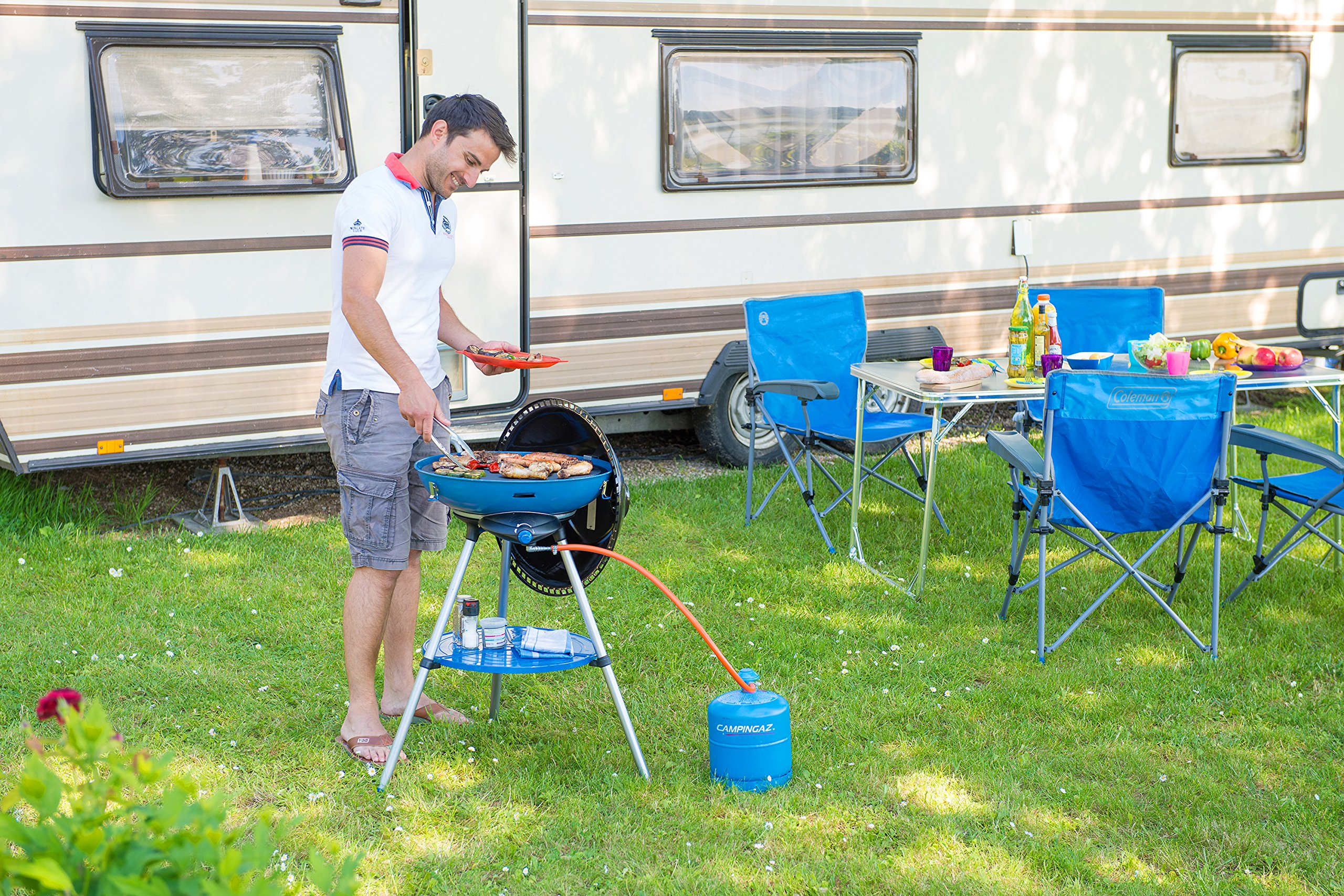 Campingaz, All in One portable Camping BBQ 6