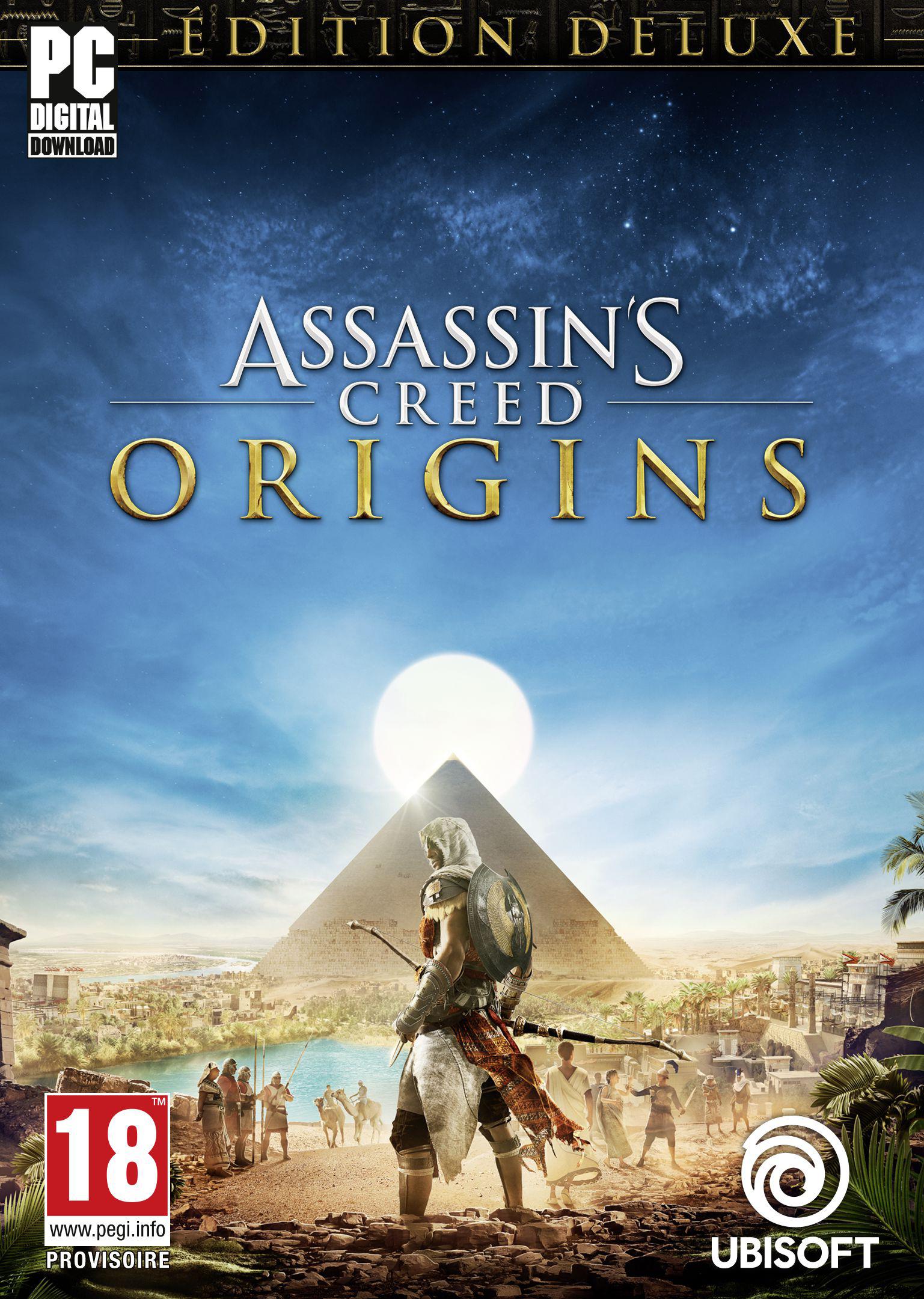 Assassin's Creed Origins - Deluxe Edition [Code Jeu PC -...