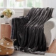 Reafort Ultra Soft Flannel Fleece Royal Plush Velvet Lightweight Living Room/Bedroom Warm Blanket