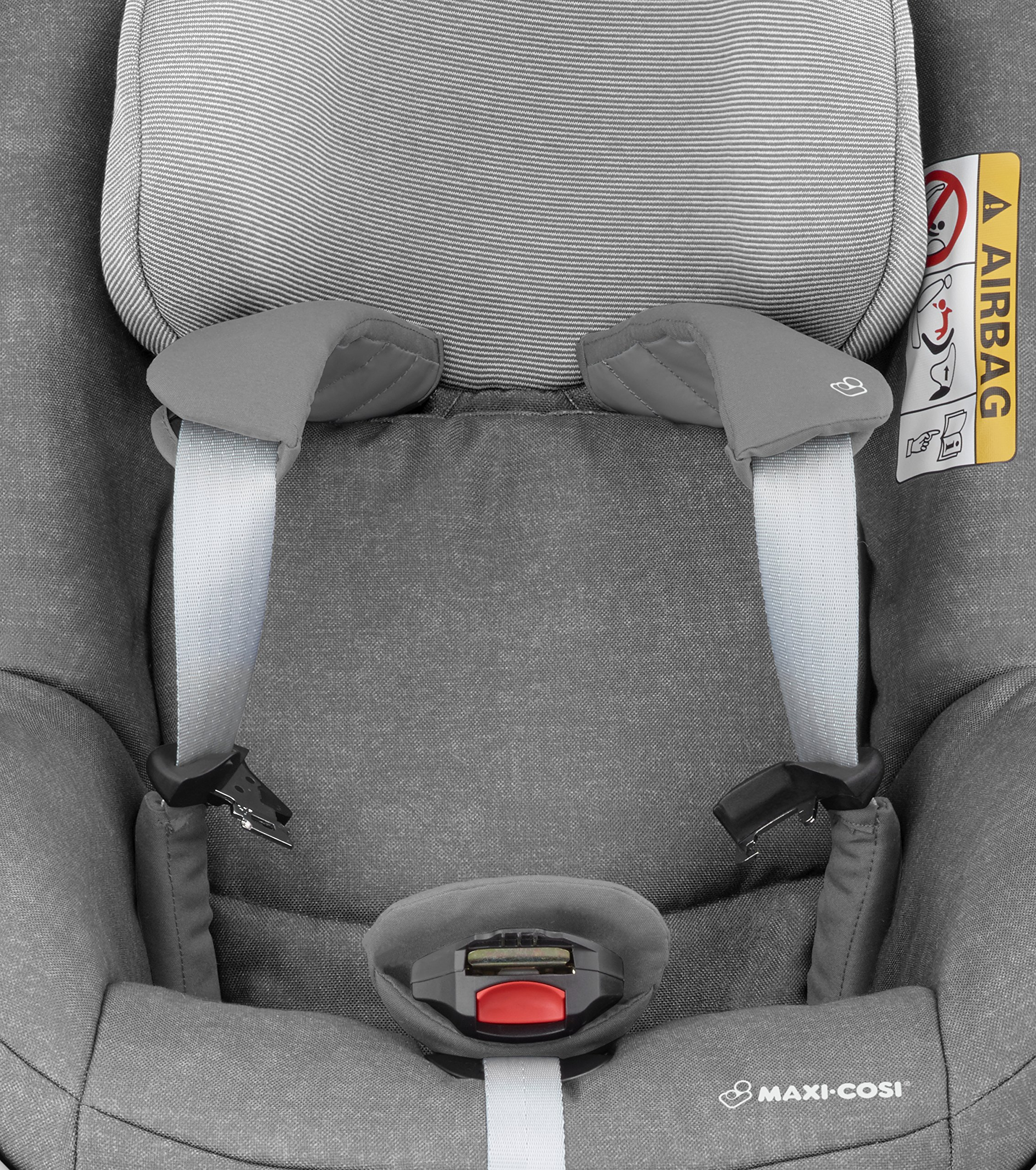 Maxi-Cosi Pearl One i-Size Toddler Car Seat Group 1, Rear-Facing Car Seat, ISOFIX, 67-105 cm, 6 Months-4 Years, Nomad Grey Maxi-Cosi Must be used with the maxi-cosi family fix one i-size base Approved according to the latest european safety standard i-size (r129) Innovative stay open harness to easily get the child in and out in seconds 7