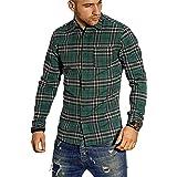 Jack & Jones Jorbrook Shirt LS Camisa Casual para Hombre