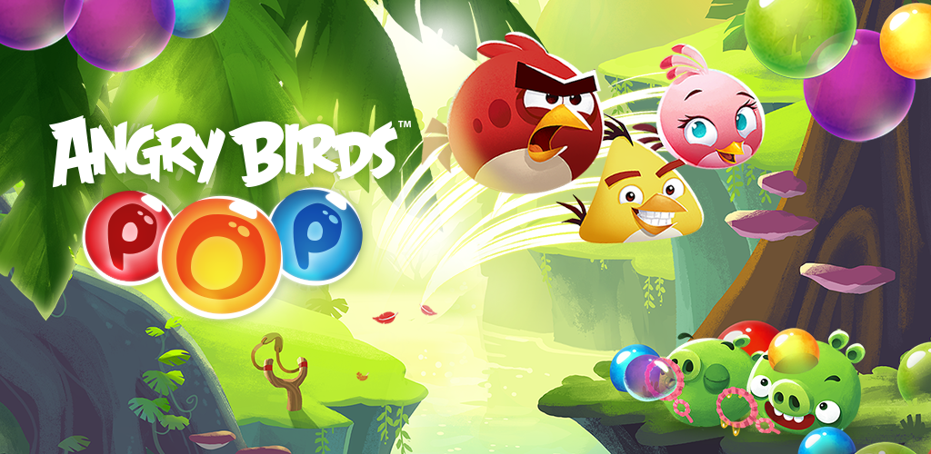 Image of Angry Birds POP! - Bubble Shooter