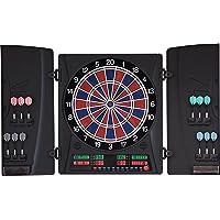 Dartona Elektronische Dartscheibe CB160 Cabinett   Dartscheibe elektronisch   Turnierscheibe mit 33 Spielen und über 160…