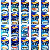 Hot Wheels 4 Unique Random Car Figures