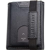 Mini portafoglio uomo slim con portamonete, scomparto banconote tradizionale e porta carte credito uomo -NEW 2020…