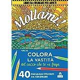 Mollami! Colora la vastità del cazzo che te ne frega. 40 paesaggi coloriti da colorare