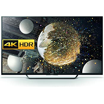 Sony Bravia KD65XD7504BU 65-Inch Android 4K HDR Ultra HD Smart LED TV with Youview, Freeview HD (2016 Model) - Black