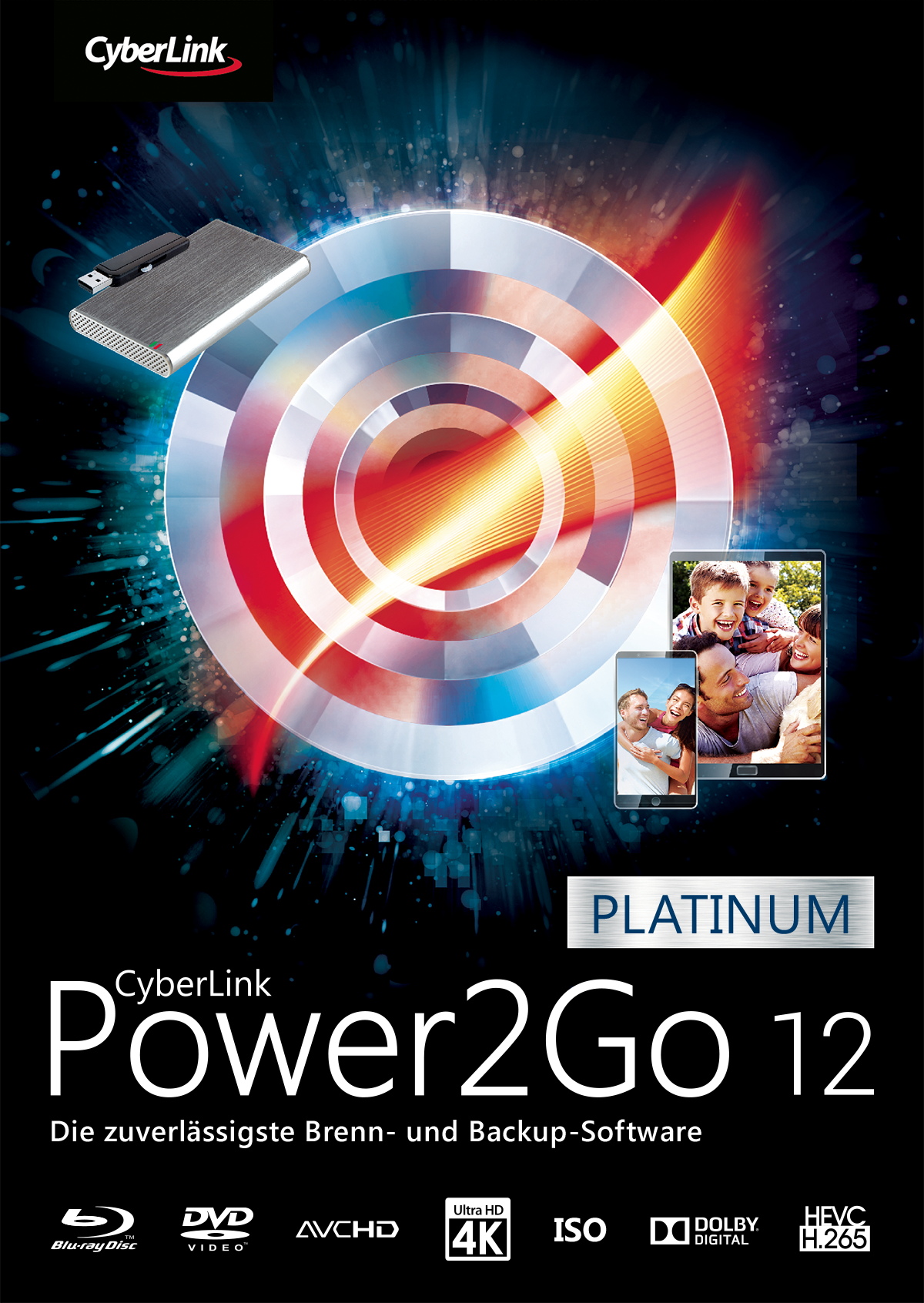CyberLink Power2Go 12 Platinum [Download]
