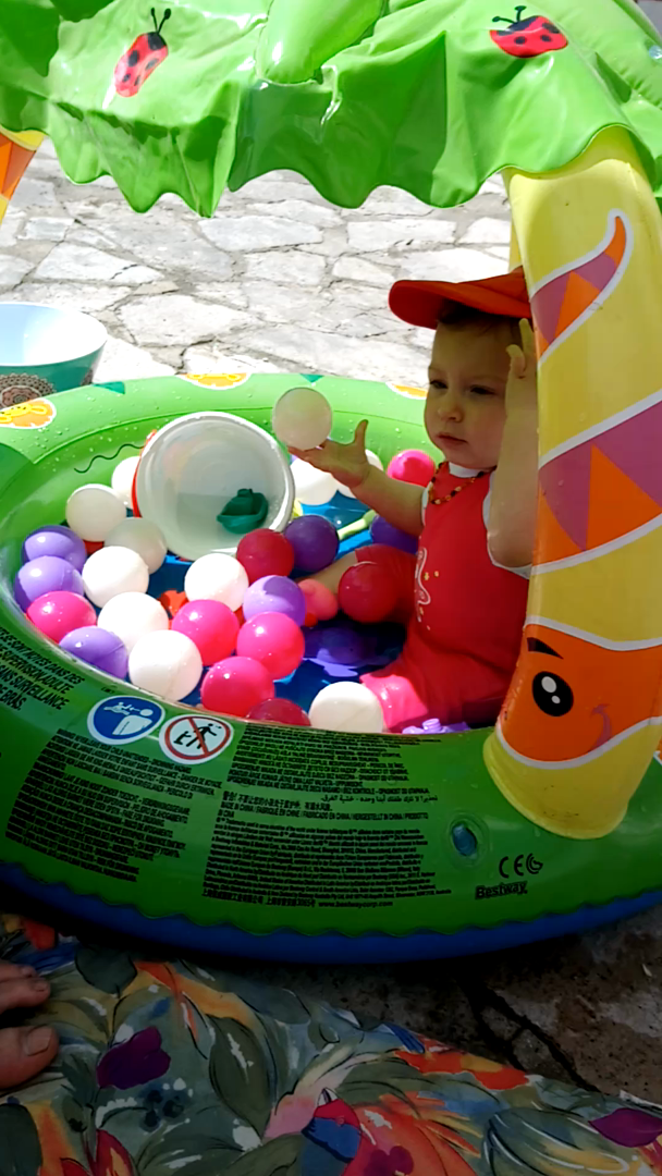 Piscina Hinchable Infantil con Parasol Bestway Friendly Jungle ...
