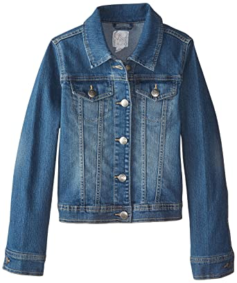 The Children's Place Girls' Basic Denim Jacket: Amazon.in ...