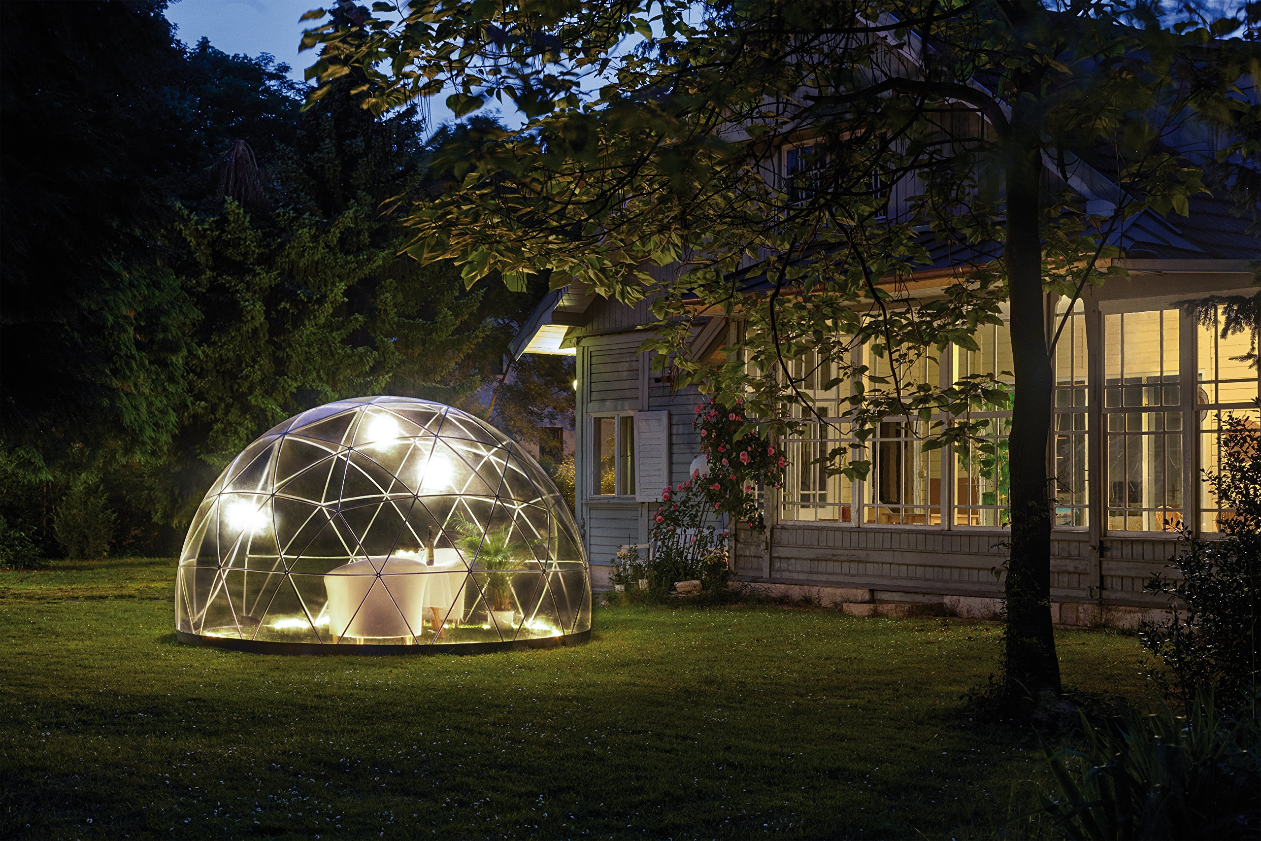 Garden Igloo 33244 Clear Greenhouse 142 X 142 X 87 inches 4