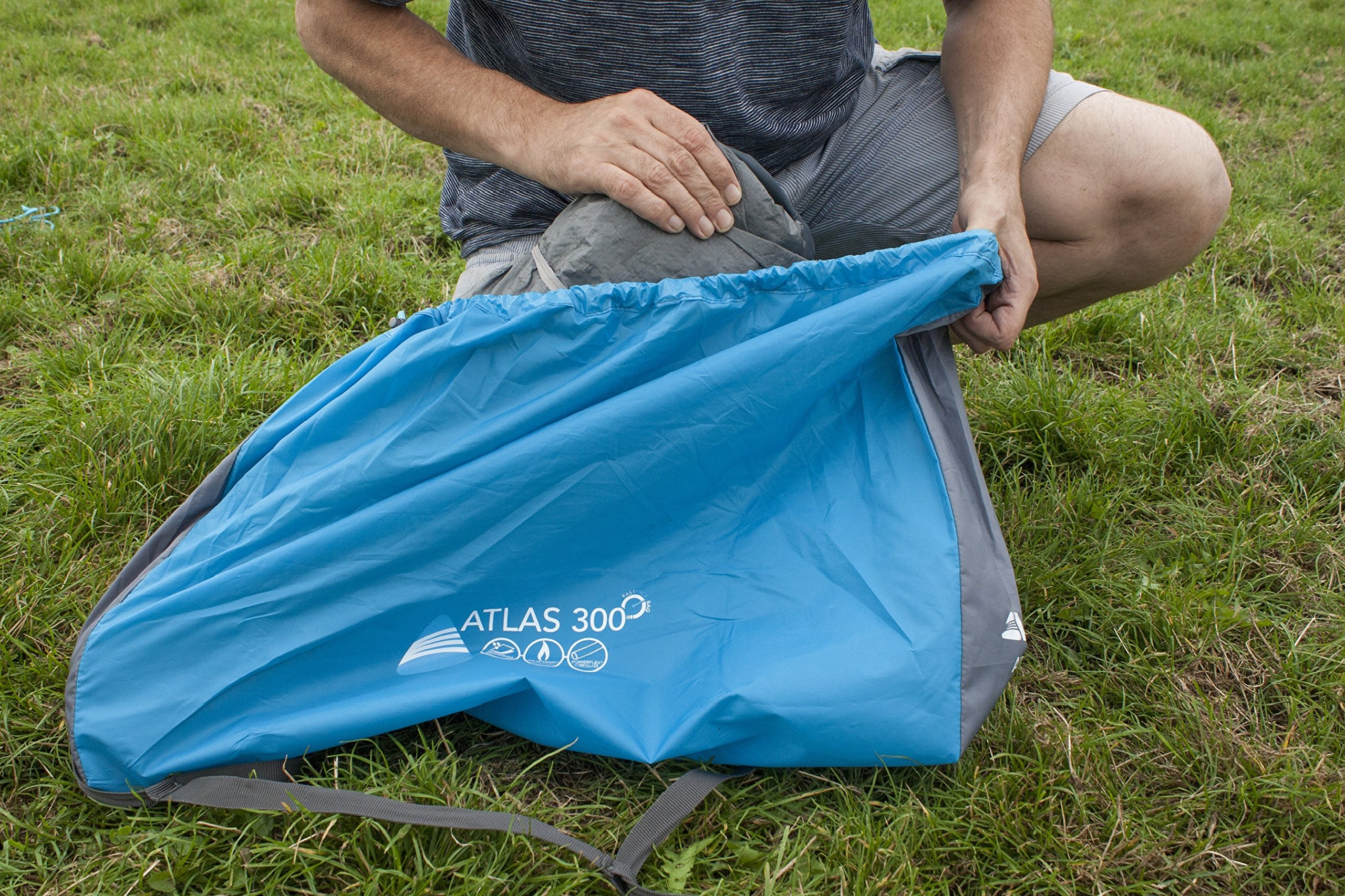 Vango Waterproof Atlas 300 Unisex Outdoor Dome Tent 3