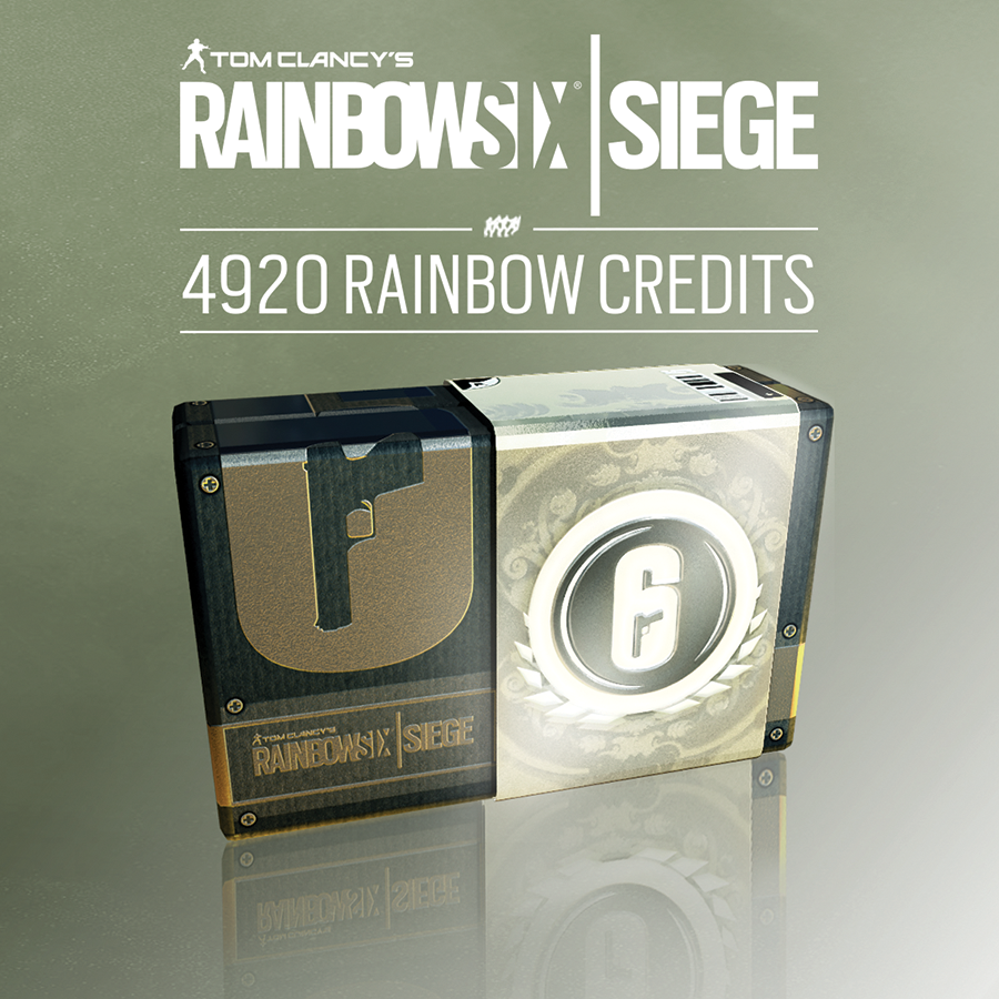 Tom Clancy's Rainbow Six Siege - 4920 Credits Pack [PC Code - Uplay]