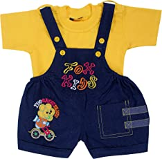 Kuchipoo Baby Dungaree Kids Dungaree Set