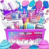 Original Stationery Unicorn Slime Kit suministros para niñas que hacen limo [todo en una caja] Los niños pueden hacer unicorn