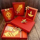 Crack of Dawn Crafts Diwali Do-It-Yourself Kids Craft Kit 3 Pack - Diwali 3D Frames