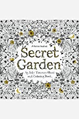 Secret Garden: An Inky Treasure Hunt and Colouring Book (King08) Paperback