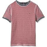 Tommy Hilfiger Reversible Bonded tee S/S Camiseta para Niños