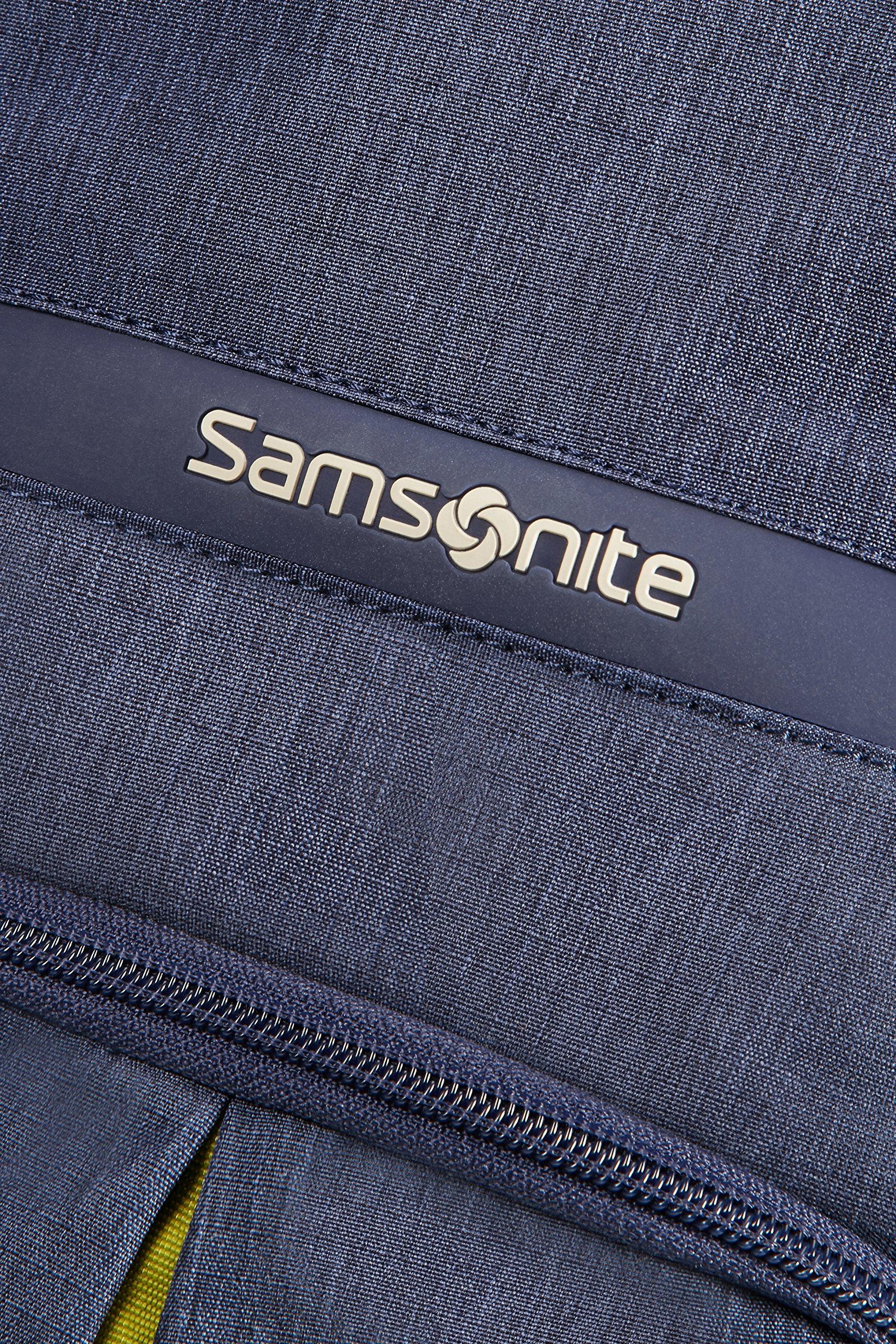 Samsonite Rewind, Mochila con ruedas, 55 cm, Azul (Dark Blue)
