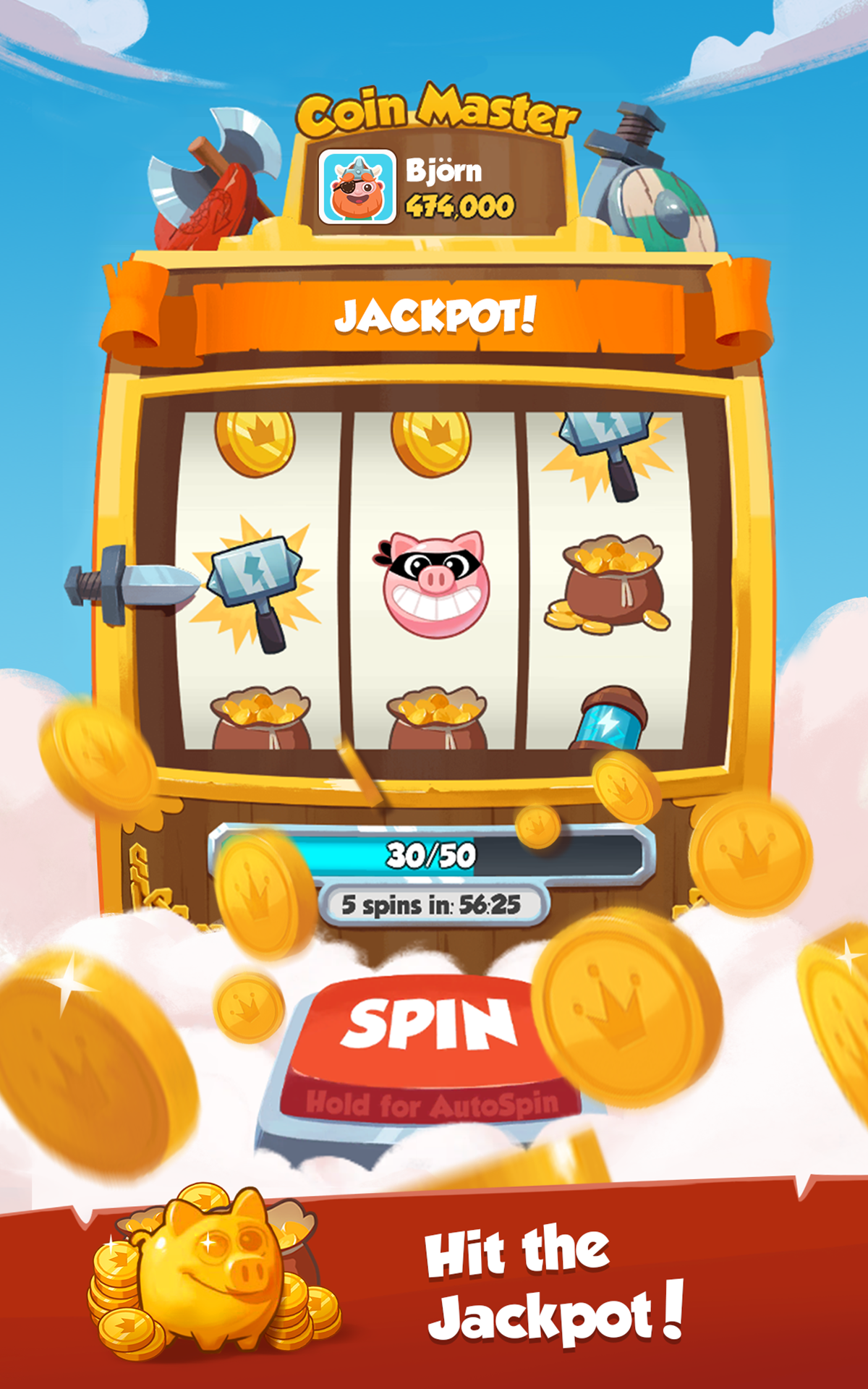 Coin Master Free Spins App