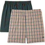 Chromozome Men's Solid Boxers (Pack of 2)(Colors & Print May Vary)