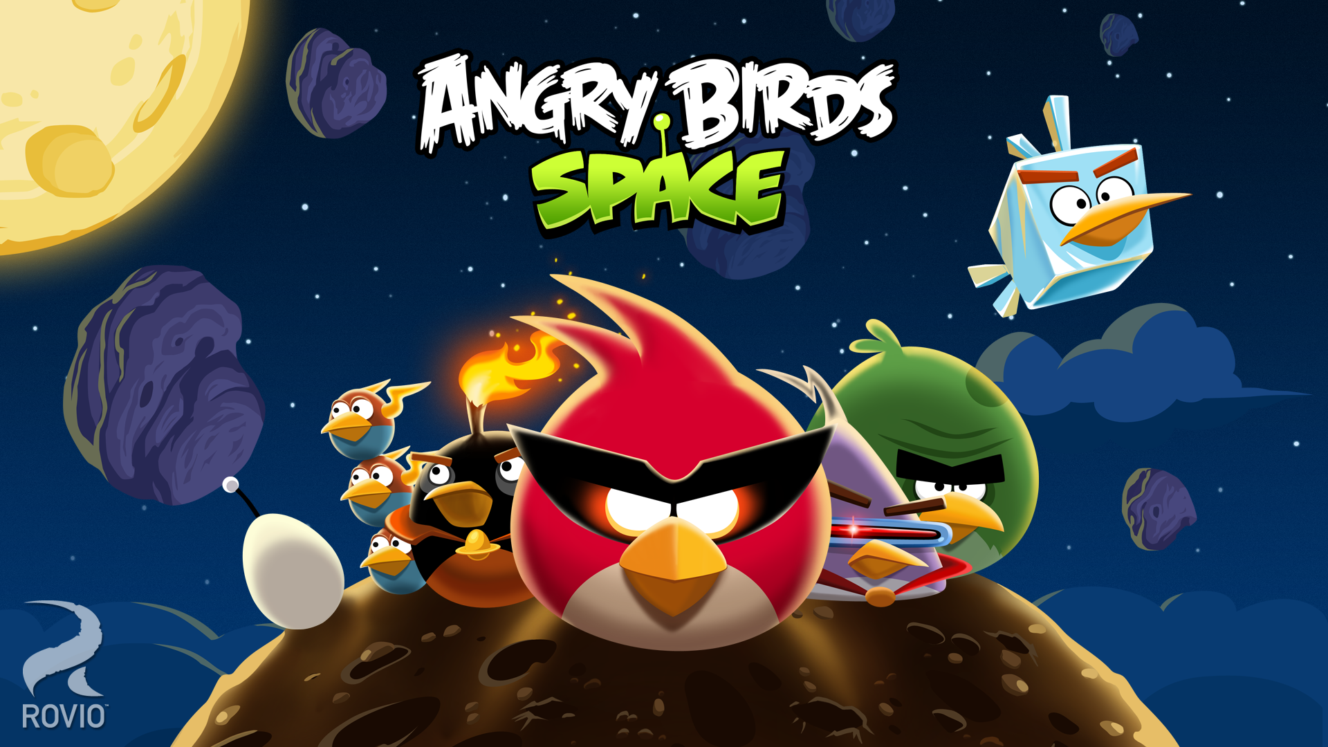 Image of Angry Birds Space