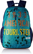 American Tourister Dune 29 Ltrs Blue Casual Backpack (Fi1 (0) 01 001)