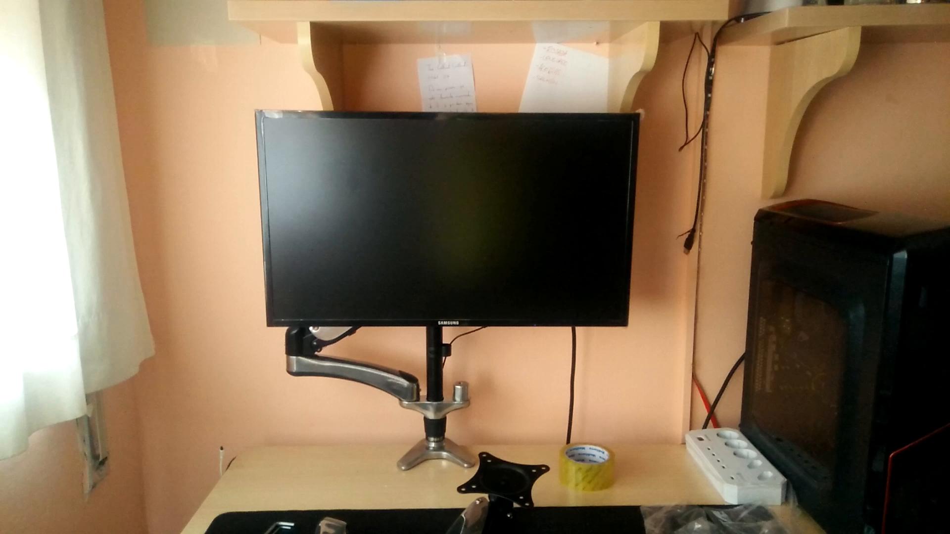 Duronic DM653 Soporte Brazo para Monitor PC de 15