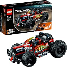 LEGO Technic 42073 - Rückziehauto, Set für geübte Baumeister