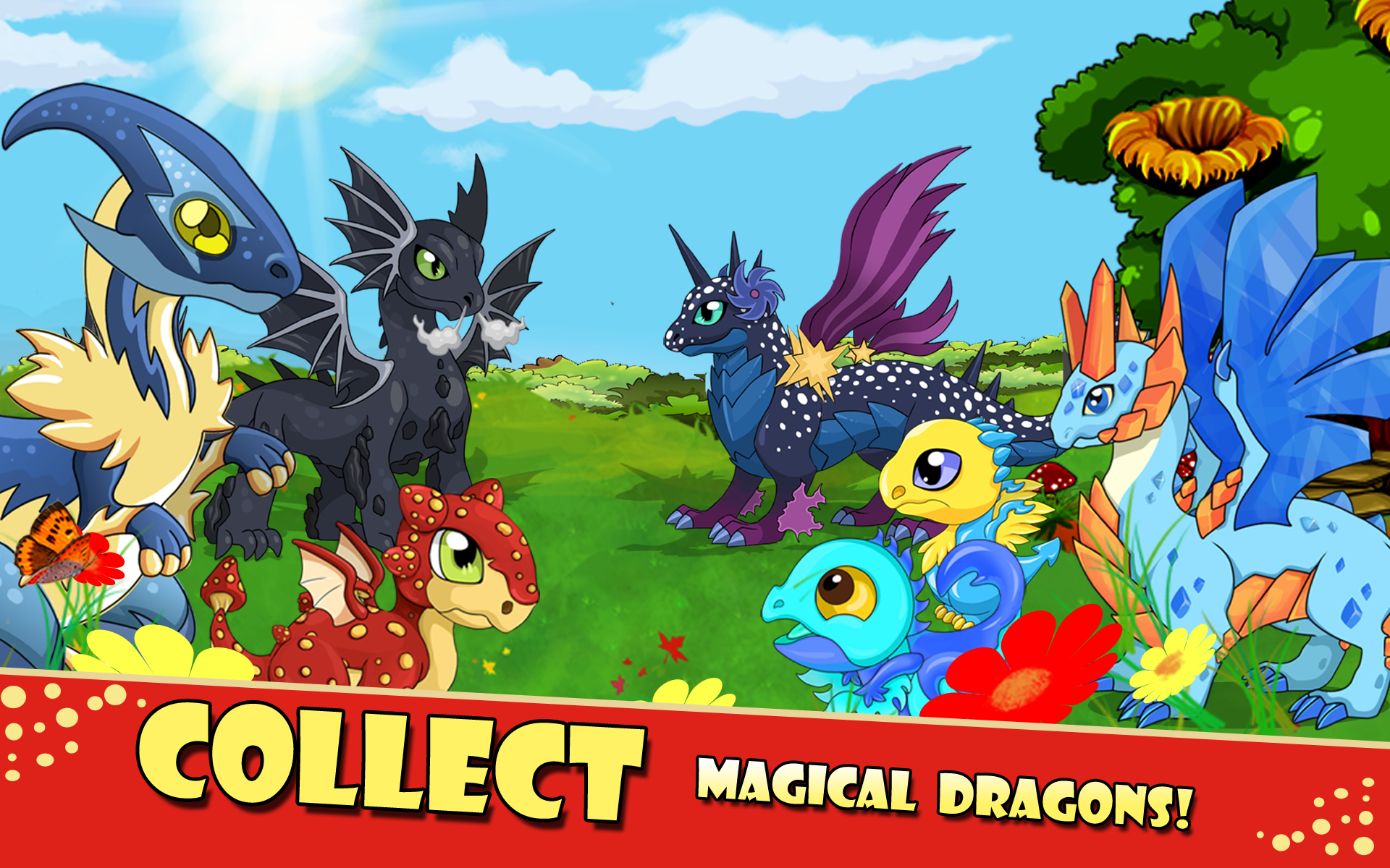 Magic Dragon Village - Fighting Breeding Fun Magic City