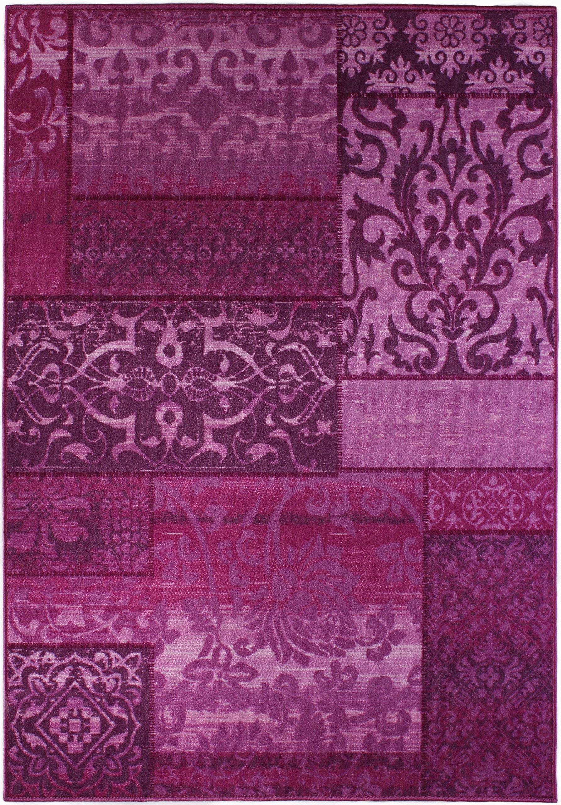 Kurzflorteppich Teppichläufer Orientteppich Vintage Patchwork  Orientalisches Muster Used Looku2013 Wohnzimmerteppich Schlafzimmer Flurläufer  U2013 Oeko Tex