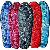 Hyke & Byke Shavano 0C Ultraleichter Daunenschlafsack für Rucksacktouren mit Kompressionssack und Fünf (5) Farben